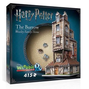 Harry Potter 3D The Burrow (Weasley Family Home)