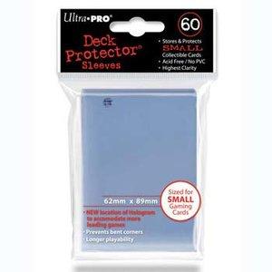 Small sleeves Transparant per 60 stuks