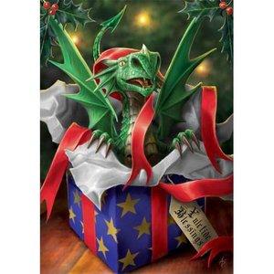 nne Stokes kerstkaart Surprise Gift