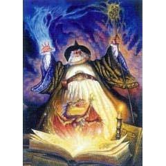 Legends Cards Tovenaar met boek