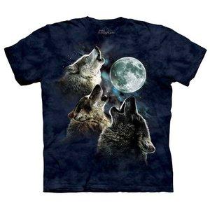 T-Shirt, Three Wolf Moon