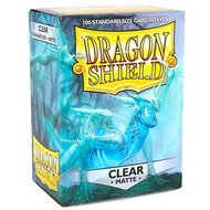 Dragonshield Clear Matte Sleeves
